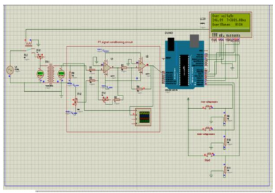 Design of Over/Under Voltage Protection Relay using Arduino Uno for